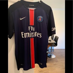 Nike Fly Emirates Paris soccer jersey